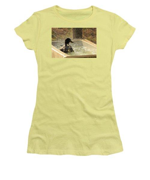 Splish Splash Women's T-Shirt (Athletic Fit)