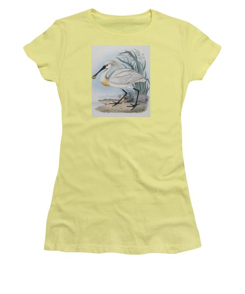 Spoonbill Women's T-Shirt (Athletic Fit)