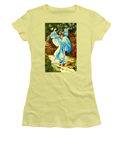 Spring - Awakening Women's T-Shirt (Athletic Fit)