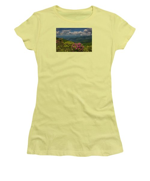 Spring Blooms On The Blue Ridge Parkway Women's T-Shirt (Athletic Fit)