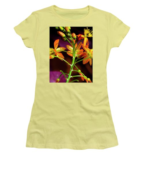 Women's T-Shirt (Junior Cut) featuring the photograph Spring Blossoms 3 by Stephen Anderson
