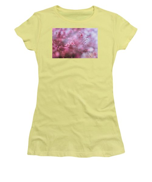 Spring Blossoms In Their Beauty Women's T-Shirt (Athletic Fit)