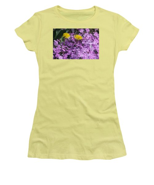 Spring Carousel Women's T-Shirt (Junior Cut) by Vadim Levin