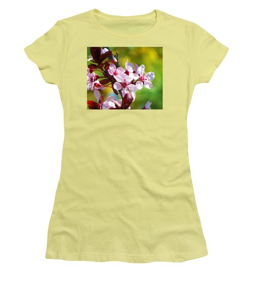 Spring Cheer Women's T-Shirt (Athletic Fit)