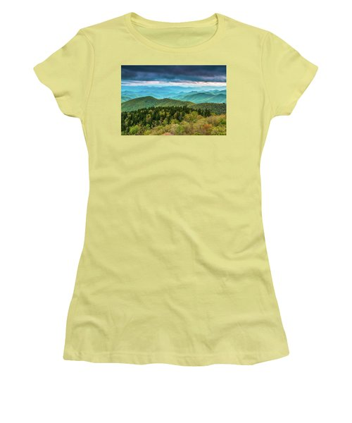 Women's T-Shirt (Athletic Fit) featuring the photograph Spring Colors by Joye Ardyn Durham