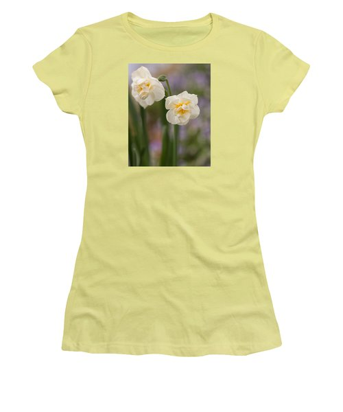 Women's T-Shirt (Athletic Fit) featuring the photograph Spring Dance by Julie Andel