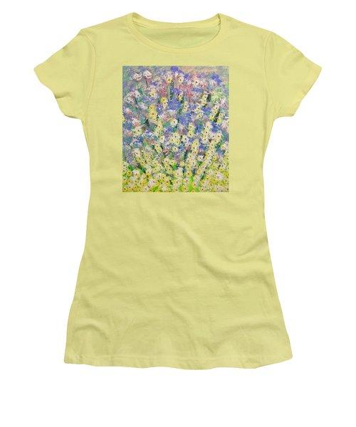 Spring Dreams Women's T-Shirt (Junior Cut) by George Riney