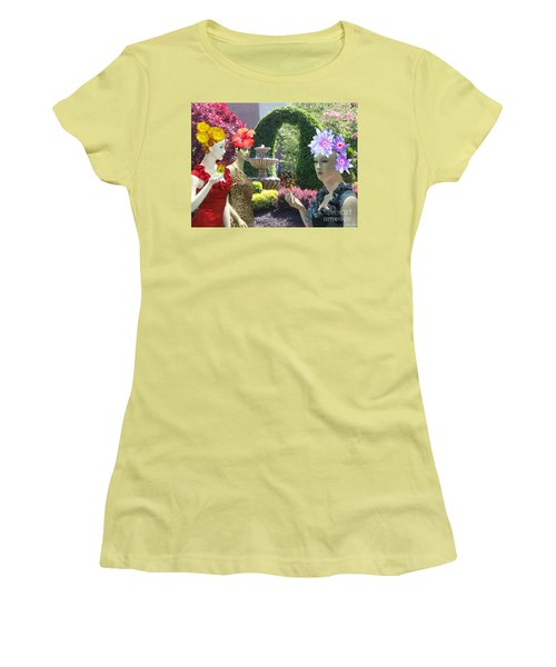 Spring In Bloom Women's T-Shirt (Athletic Fit)