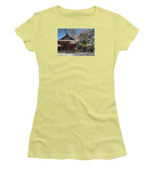 Spring In Edo Women's T-Shirt (Junior Cut) by Alan Toepfer