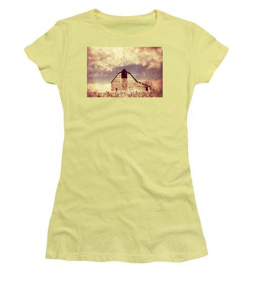 Women's T-Shirt (Junior Cut) featuring the photograph Spring In Kansas  by Julie Hamilton