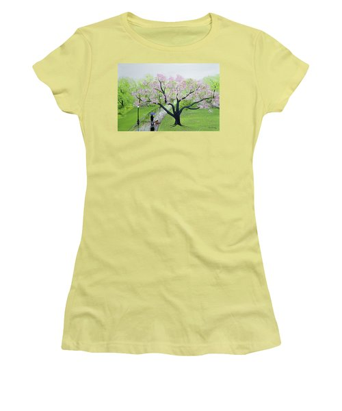 Spring In The Park Women's T-Shirt (Athletic Fit)
