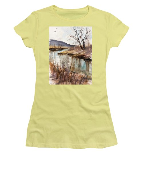 Spring Is Blushing Women's T-Shirt (Junior Cut) by Judith Levins