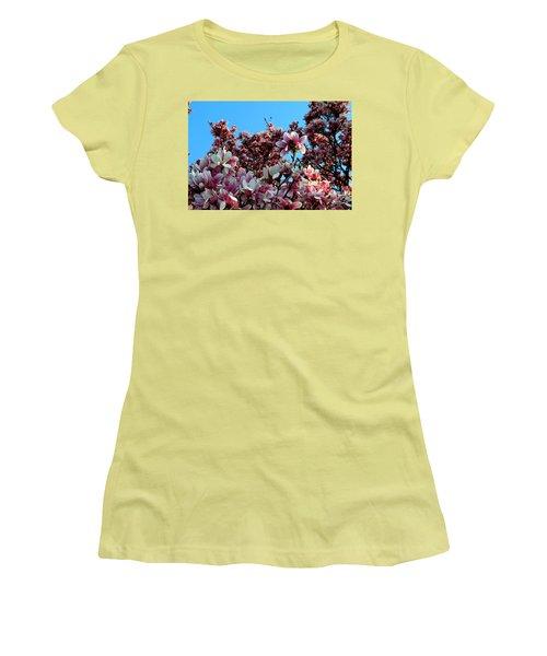 Spring Is Here Women's T-Shirt (Junior Cut) by Dorin Adrian Berbier