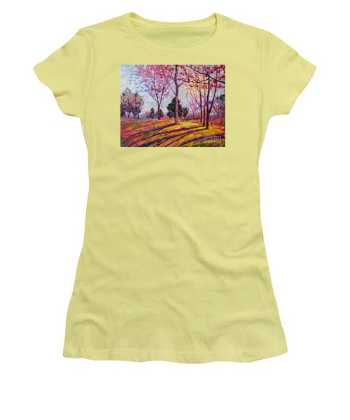 Spring Light Women's T-Shirt (Athletic Fit)