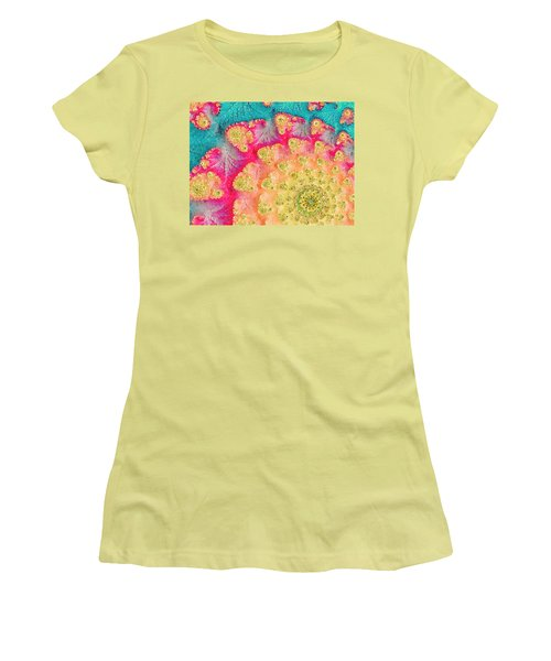 Spring On Parade Women's T-Shirt (Junior Cut) by Bonnie Bruno