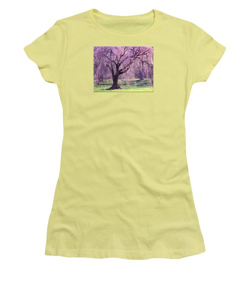 Spring Sensation Women's T-Shirt (Athletic Fit)