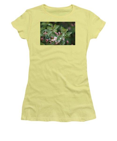 Spring Showers 5 Women's T-Shirt (Junior Cut) by Antonio Romero