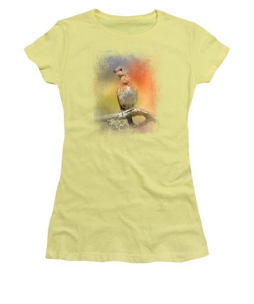 Spring Song Women's T-Shirt (Junior Cut) by Jai Johnson