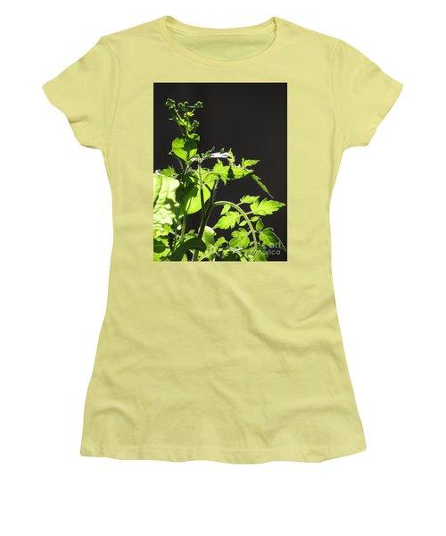 Spring103 Women's T-Shirt (Junior Cut) by En-Chuen Soo