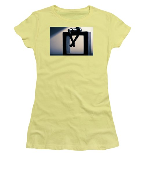 Square Foot Women's T-Shirt (Junior Cut) by David Sutton