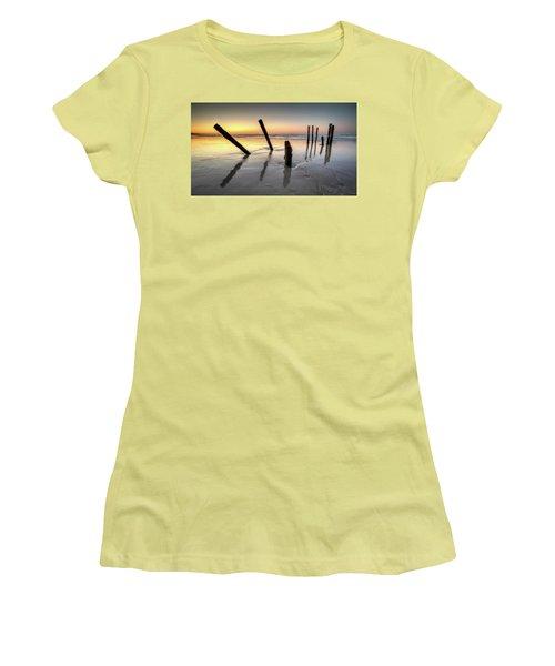 St Clair Sunset Women's T-Shirt (Junior Cut) by Brad Grove
