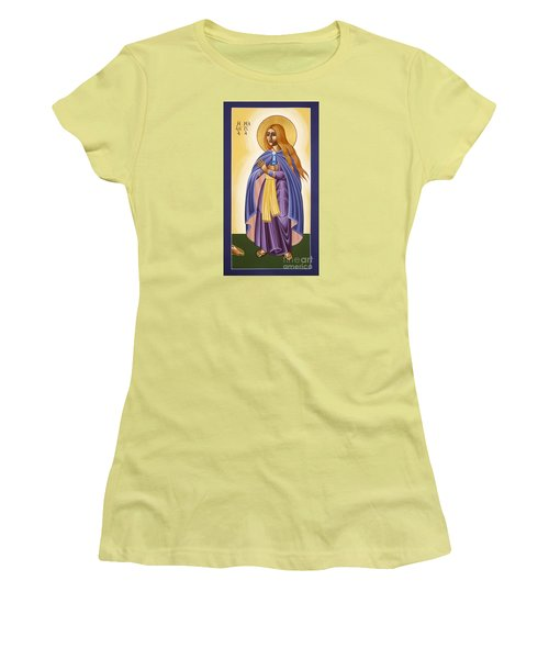 St Mary Magdalen Equal To The Apostles 116 Women's T-Shirt (Junior Cut) by William Hart McNichols