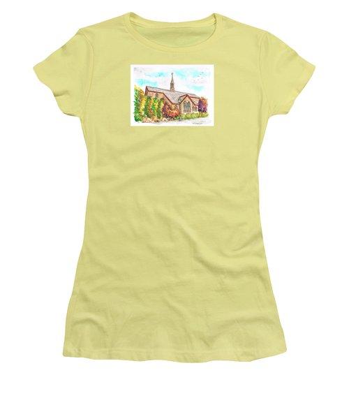 St. Mary's Catholic Church, Brighton, Utah Women's T-Shirt (Junior Cut) by Carlos G Groppa