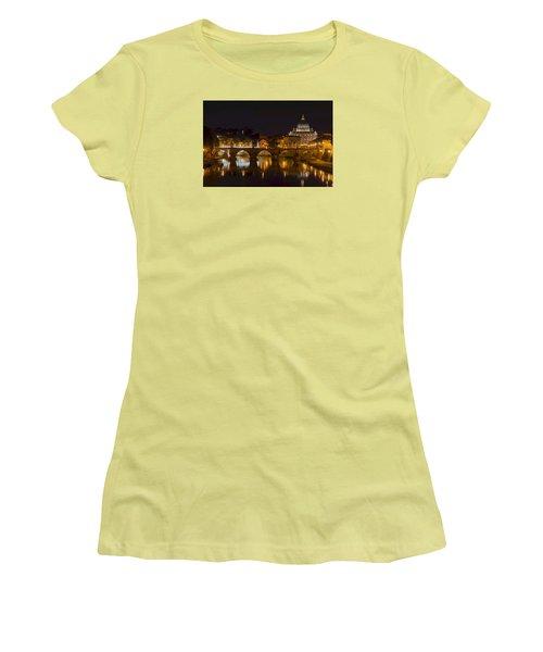 St. Peter's Basilica-655 Women's T-Shirt (Junior Cut) by Alex Ursache