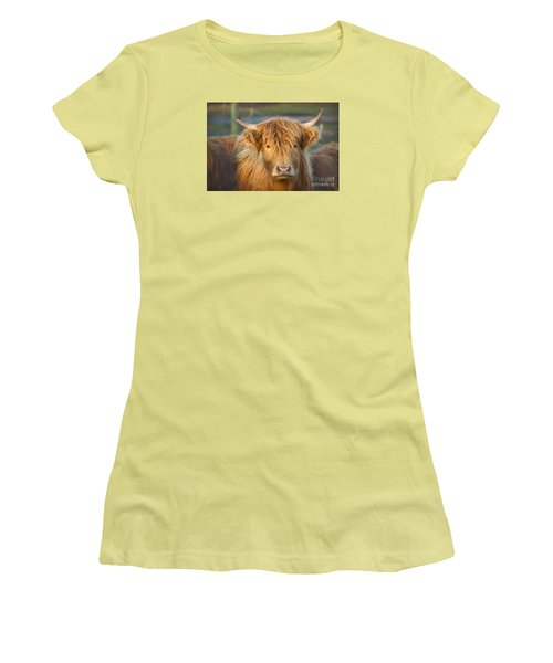 Standing Out In The Herd Women's T-Shirt (Athletic Fit)
