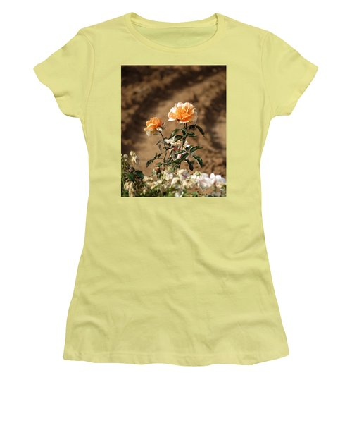 Women's T-Shirt (Junior Cut) featuring the photograph Standing Out by Laurel Powell