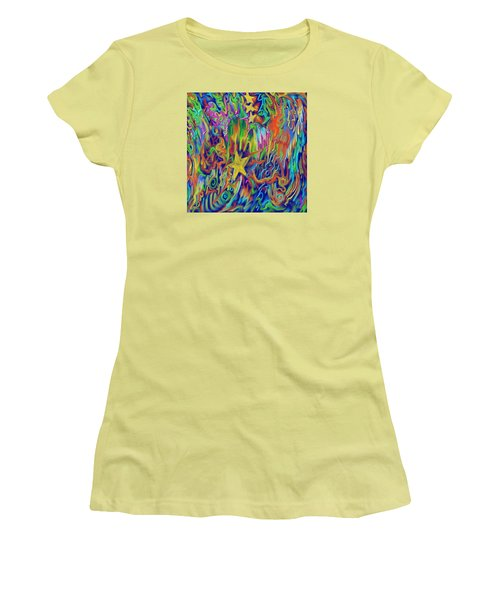 Star E Nite Women's T-Shirt (Junior Cut) by Kevin Caudill