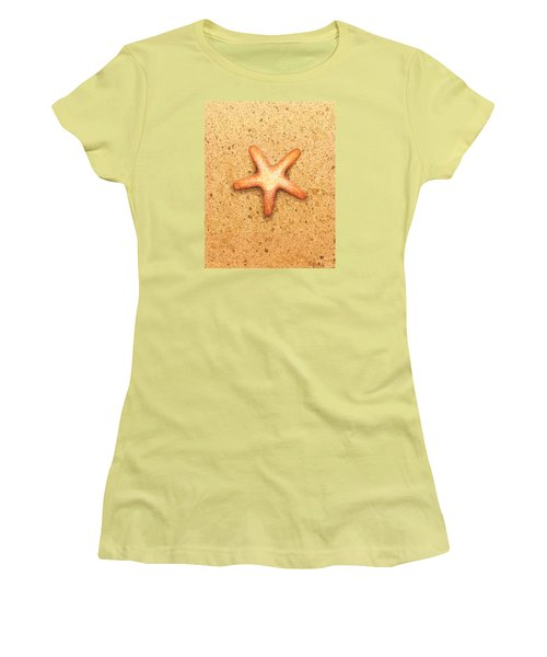 Star Fish Women's T-Shirt (Junior Cut) by Katherine Young-Beck