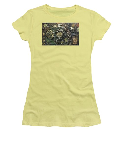 Star Ladder Women's T-Shirt (Junior Cut) by Bernard Goodman