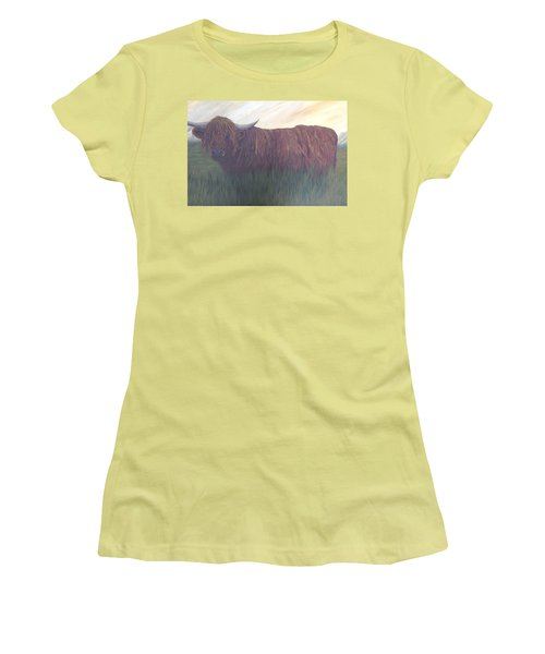 Stare Down Women's T-Shirt (Junior Cut) by T Fry-Green