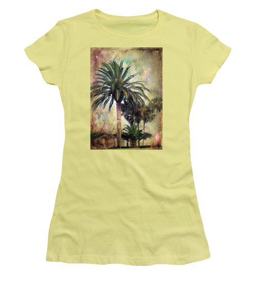 Women's T-Shirt (Junior Cut) featuring the photograph Starry Evening In St. Augustine by Jan Amiss Photography