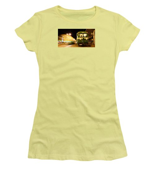 Women's T-Shirt (Junior Cut) featuring the photograph Stationary by Steve Siri