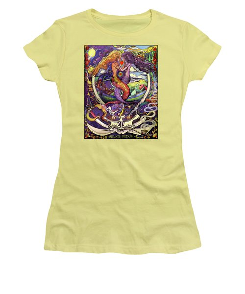 Steal Your Mermaids Women's T-Shirt (Athletic Fit)