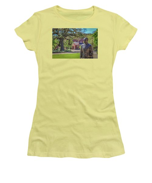 Women's T-Shirt (Junior Cut) featuring the photograph Stephens, Oaks And Walk Of Honor by Gregory Daley  PPSA