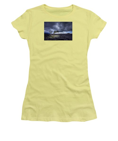Women's T-Shirt (Junior Cut) featuring the photograph Still Fighting by Dan Mihai