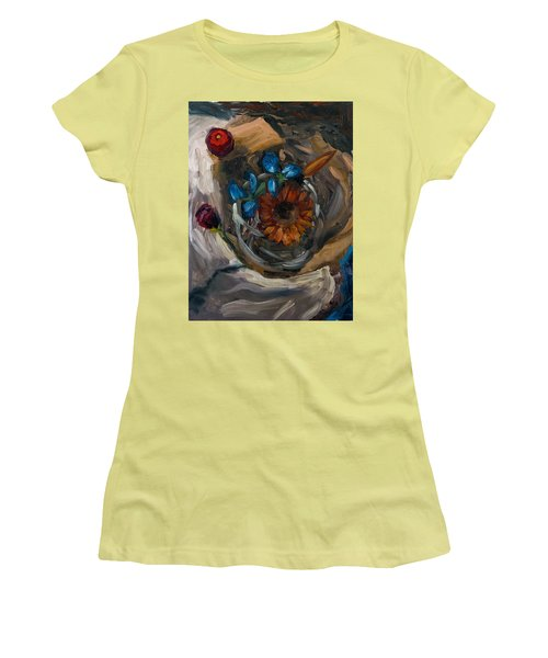 Still Life Abstract Women's T-Shirt (Athletic Fit)