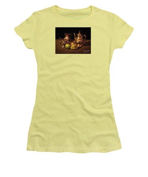 Still Life No. 17  ... Women's T-Shirt (Junior Cut) by Chuck Caramella