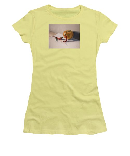 Still Life With Produce Women's T-Shirt (Athletic Fit)