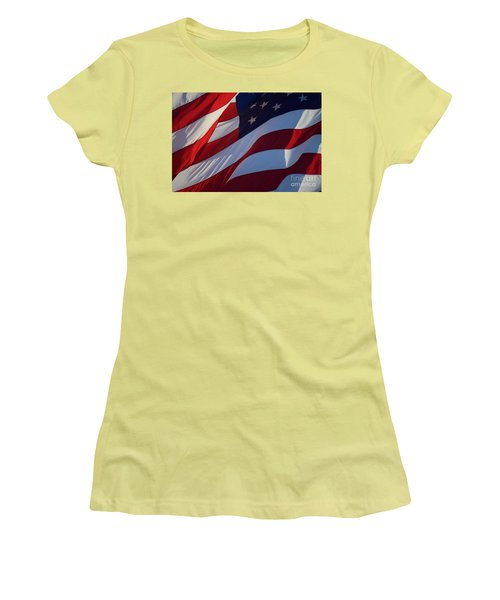 Still Our Flag. Women's T-Shirt (Athletic Fit)