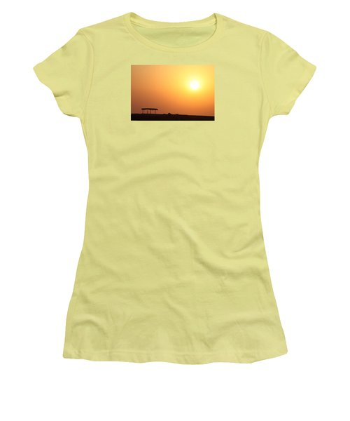 Women's T-Shirt (Junior Cut) featuring the photograph Still Out Of The Shade by Jez C Self