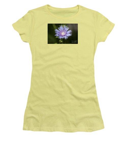 Stokes Aster 20120703_129a Women's T-Shirt (Junior Cut) by Tina Hopkins