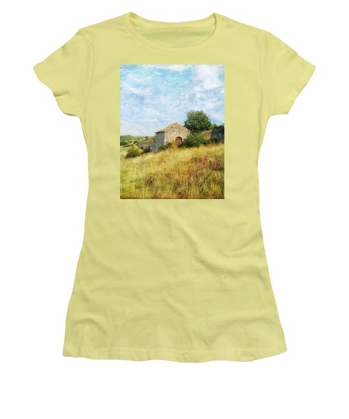 Provence Countryside Women's T-Shirt (Athletic Fit)