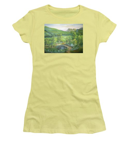 Stonebridge River Crossing Women's T-Shirt (Athletic Fit)