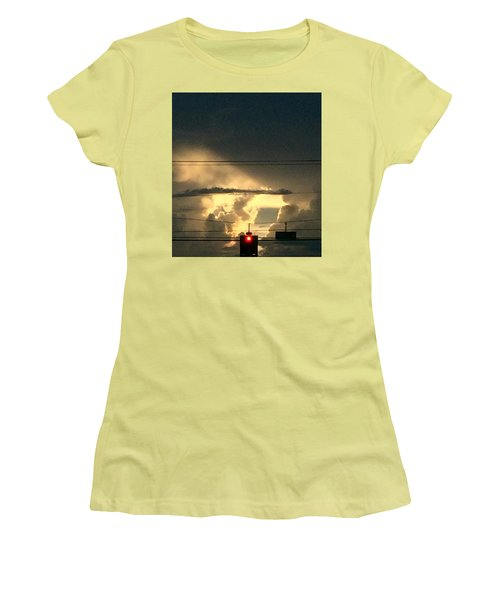 Stoplight In The Sky Women's T-Shirt (Athletic Fit)