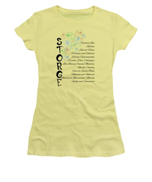 Storge- Familial Love Women's T-Shirt (Athletic Fit)