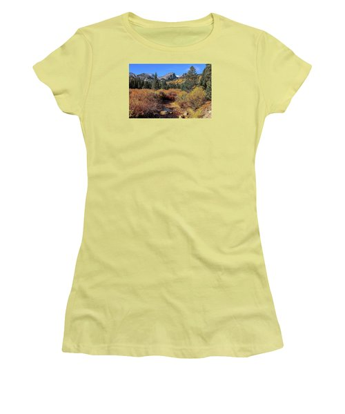 Storm Pass Trail Women's T-Shirt (Athletic Fit)